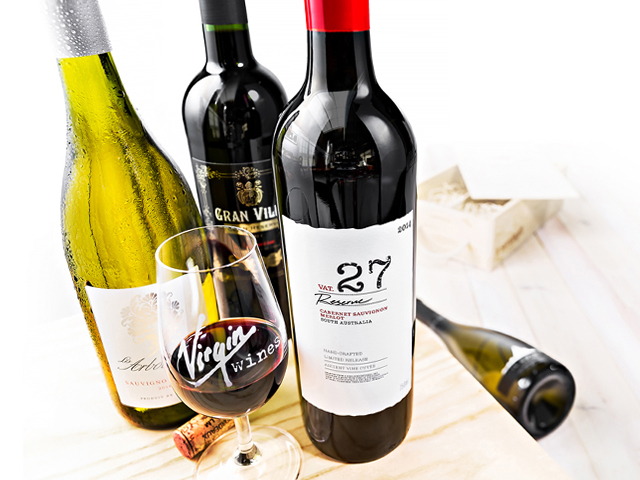 Cover Image of Virgin Wines