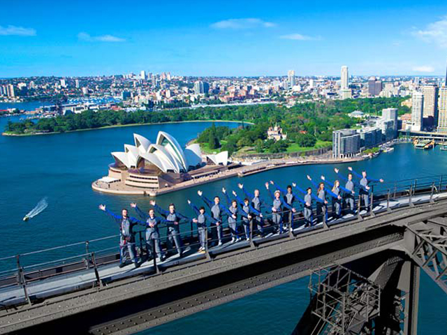 Cover Image of Sydney Harbour Bridge Climb Daytime Experience
