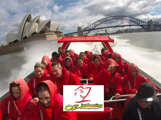 Cover Image of Sydney Harbour Oz Jet Boating Thrill Ride